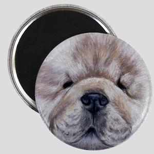 Cream Chow Chow Magnet