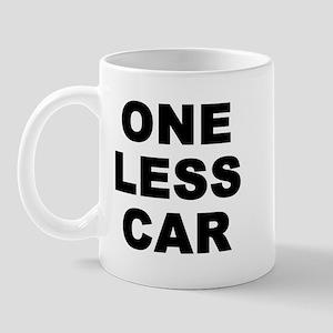 One less car Mug