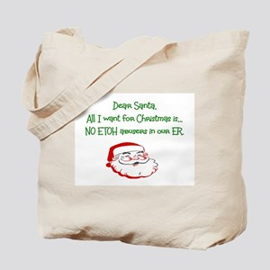Christmas Medical Tote Bag