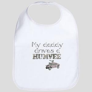 My Daddy Drives a Humvee Bib