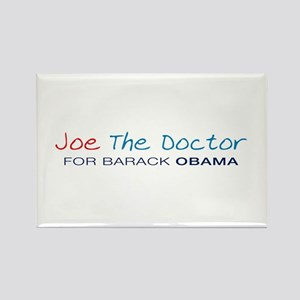 Joe The Doctor Rectangle Magnet