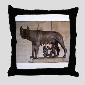 CANE Wolf Throw Pillow