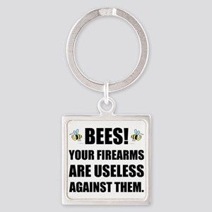 Bee Firearms Useless Keychains