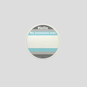 Demiboy Blank Mini Button