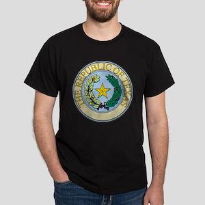 Republic of Texas Seal Dark T-Shirt