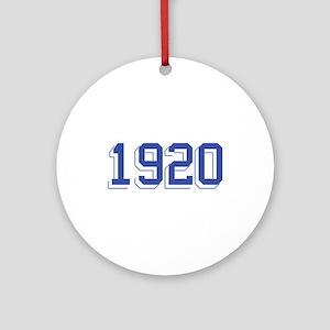 1920 Ornament (Round)