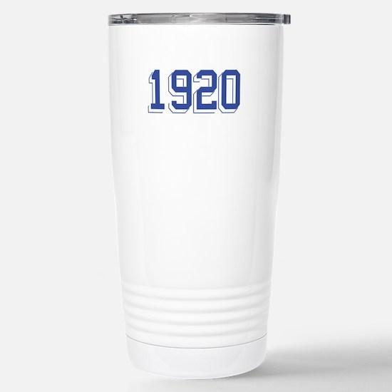 1920 Stainless Steel Travel Mug