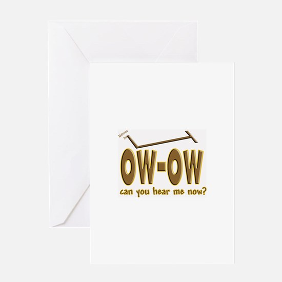 Ow-Ow Greeting Card