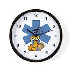 EMS Thanksgiving Wall Clock