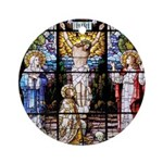 Crucifixion Ornament (Round)