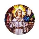Finding Jesus in the Temple Ornament (Round)