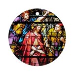 Jesus Crowned with Thorns Ornament (Round)