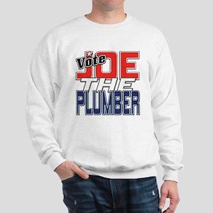 Vote JOE THE PLUMBER! Sweatshirt