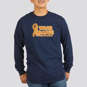 I wear orange brother Long Sleeve Dark T-Shirt