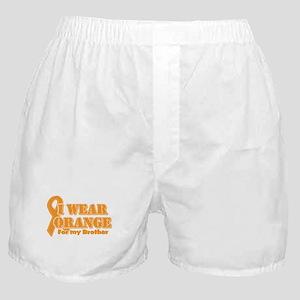 I wear orange brother Boxer Shorts