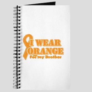 I wear orange brother Journal