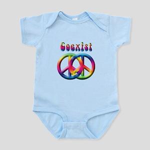 Coexist Peace Sign Infant Bodysuit