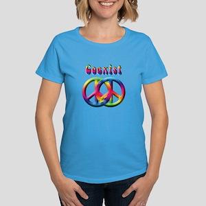 Coexist Peace Sign Women's Dark T-Shirt