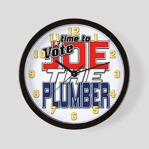 Vote JOE THE PLUMBER! Wall Clock