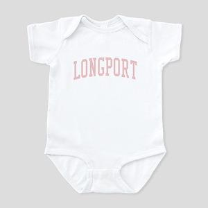 Longport New Jersey NJ Pink Infant Bodysuit