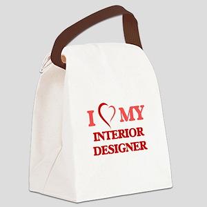 I love my Interior Designer Canvas Lunch Bag