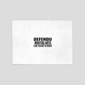 Defendu I Like You Not So Much 5'x7'Area Rug