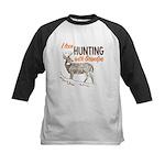 Hunting with Grandpa Kids Baseball Jersey