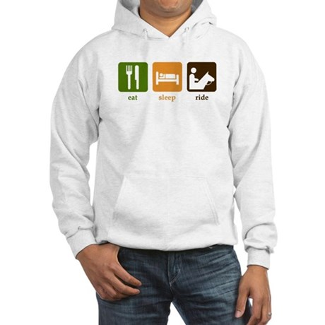 Horseback Riding Hooded Sweatshirt