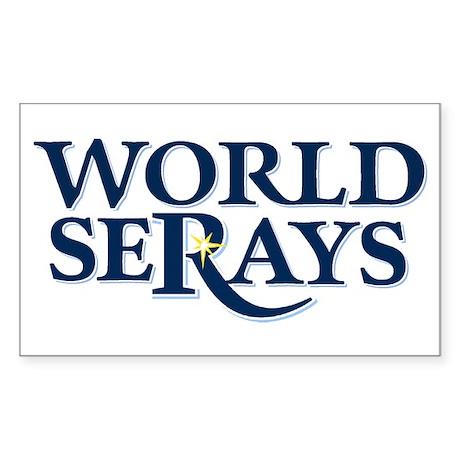 WORLD SERAYS Rectangle Sticker 10 pk)