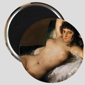 Goya's Nude Maja Magnet