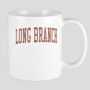 Long Branch New Jersey NJ Red Mug