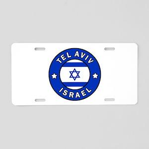 Tel Aviv Israel Aluminum License Plate