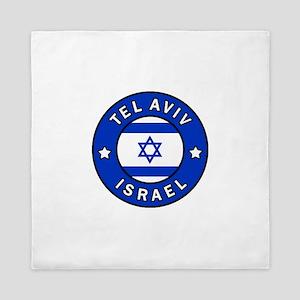 Tel Aviv Israel Queen Duvet