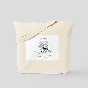 UAA Anthropology Club Logo Tote Bag