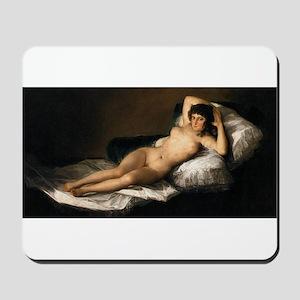 Goya's Nude Maja Mousepad
