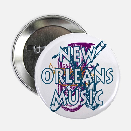 """New Orleans 2.25"""" Button (10 pack)"""
