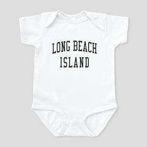 Long Beach Island New Jersey NJ Black Infant Bodys
