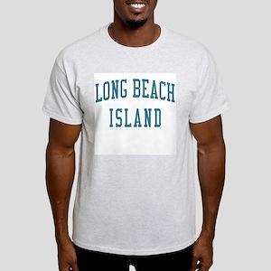 Long Beach Island New Jersey NJ Blue Light T-Shirt