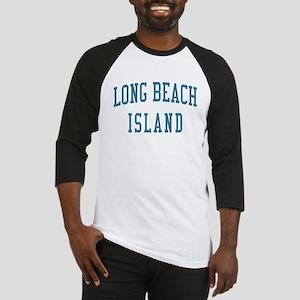 Long Beach Island New Jersey NJ Blue Baseball Jers