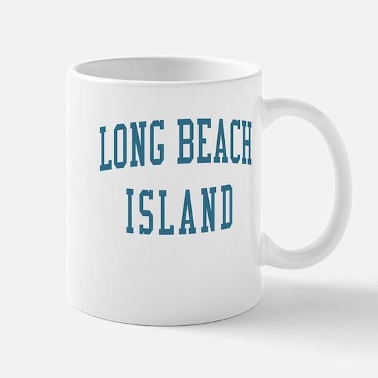 Long Beach Island New Jersey NJ Blue Mug