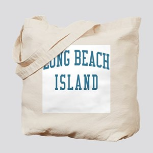 Long Beach Island New Jersey NJ Blue Tote Bag