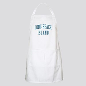Long Beach Island New Jersey NJ Blue BBQ Apron