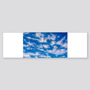 Cirrus Clouds Bumper Sticker