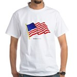 """American Flag"" 2-Sided T-Shirt"