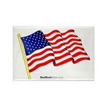 """American Flag"" Rectangle Magnet (10)"