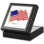 """American Flag"" Keepsake Box"