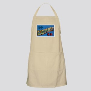 Bismarck North Dakota ND BBQ Apron