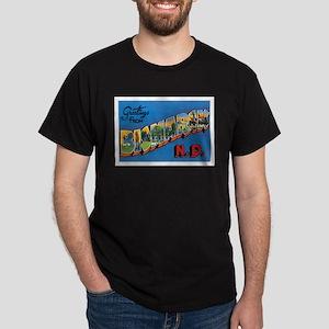 Bismarck North Dakota ND Dark T-Shirt