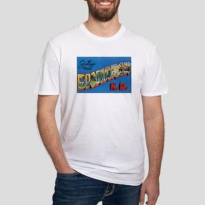 Bismarck North Dakota ND Fitted T-Shirt