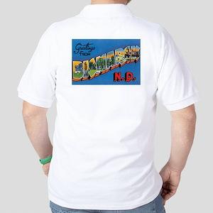 Bismarck North Dakota ND Golf Shirt